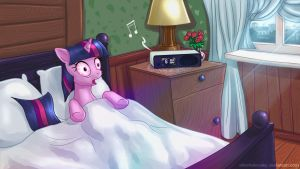 Happy Groundhog Day Twilight Sparkle by alexmakovsky