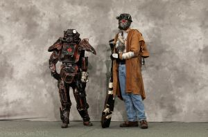 NCR Ranger and Outcast 4 by miss-mustang