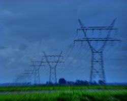 Pylon Blur by eightseven