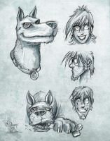 Scooby Doo - Sketches by petipoa