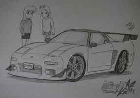 Initial D: Arcade Stage 6 AA - NSX NA1 by Ricky47