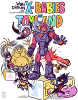 X-Babies in Toyland by Theamat