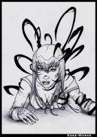 Saeko Symbiote Commission 2 of 6 by Edge-Works