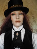 Steampunk inspired jabot PCN6-4 by JanuaryGuest