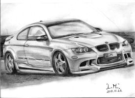 BMW 5 hours of work by LaurenMi