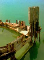 Detail of a boat by Ciril