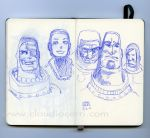 Moleskine of the day by claudiocerri