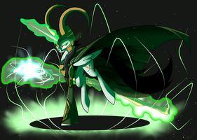Loki God of Mischief by TurrKoise