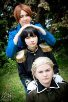 Hetalia: Axis Trio by LiquidCocaine-Photos
