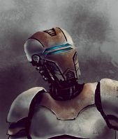 Robot Sketch by Nero-tbs