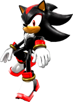 Shadow the Hedgehog by itsHelias94