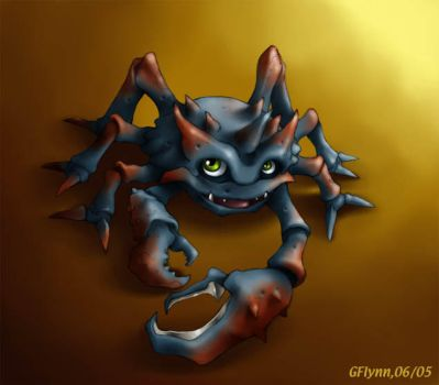 Crabmon by snoot