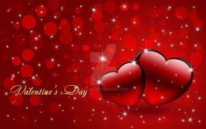Hearts for valentines day 2015 by Exgal