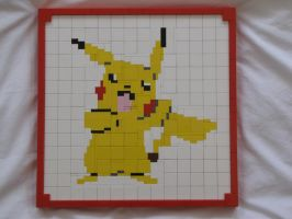 Pikachu Mosaic by Stevolteon