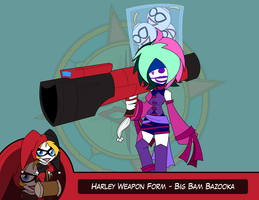 Heroes as Arms - Big Bam Bazooka by Dragon-FangX