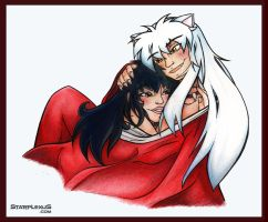 - INUYASHA - haori for two by starplexus