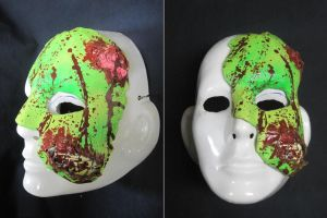 Zombie Of The Opera Mask by I-EAT-SOULS