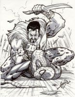 Kraven the Hunter by jamesq