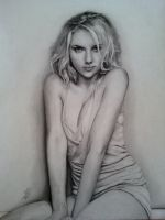Scarlett Johansson by Surreal-Portrait