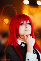 Rias Gremory(High School DxD) by colaG