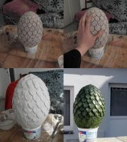 Game of Thrones Dragon Egg - Handmade by K-a-o-r-i