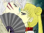 Serena And Sesshomaru - ArtTrade by KentuckyRedneck