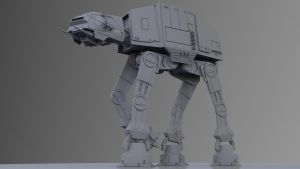 Imperial Walker AT-AT by Ozhog