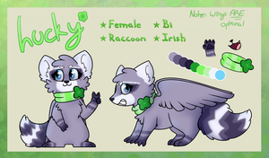 Lucky Ref Sheet - May 2016 by Luckoon