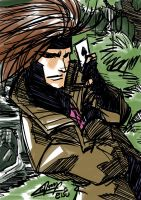 Daily sketch: Gambit by eisu