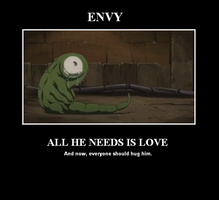 FMA Brotherhood tiny Envy by TheOnlyWayIsDeath