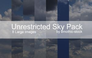 Unrestricted Sky Pack by emothic-stock