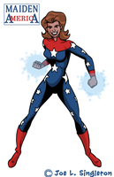 Maiden America by Joe-Singleton