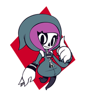 SkeleGirl by dundabre000 by Coonstito