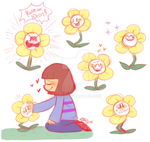 Flowey the Flower by Celebi9