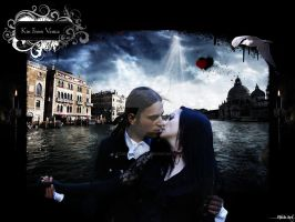 Kiss From Venice ''Color'' by StudioPitchArt