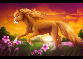 Field of Flowers by RiverSpirit456