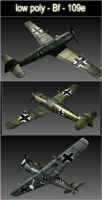 Model 3d : bf - 109e by MarcinG1