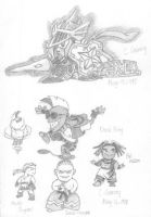 SD Gundam and more by kelch12