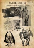 Cthulhu- Concept art 16 by FallenAngelOmega