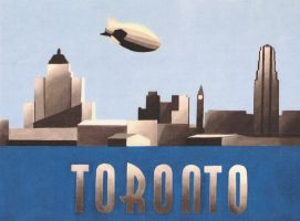 Toronto 1930 by DecoEchoes