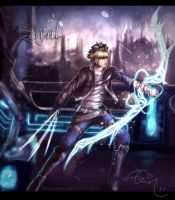 League of Legends - EZREAL by Arlequinne