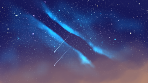 Night Sky by coffeeatthecafe