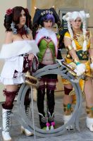Amy, Tira and Talim - SC4 by popecerebus