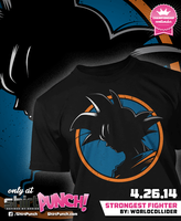 STRONGEST FIGHTER Shirt by worldcollider