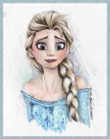 Elsa of Arendelle by Persephine