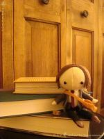 dr. spencer reid plushie 1 by Lanaleiss
