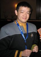 Me in Starfleet Uniform by Pencilshade