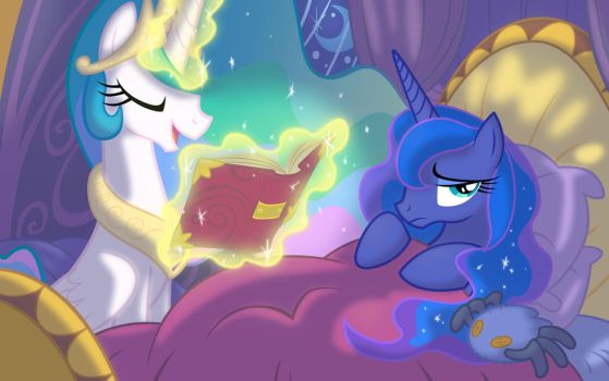 A Bedtime Story by Equestria-Prevails