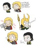 Thor and Loki doodles by PurplGoddess565