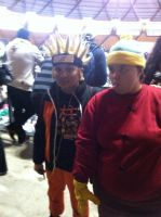 Eric Theodore Cartman From South Park Meets Naruto by Playflame1